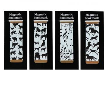 Magnetic Bookmark Silhouettes